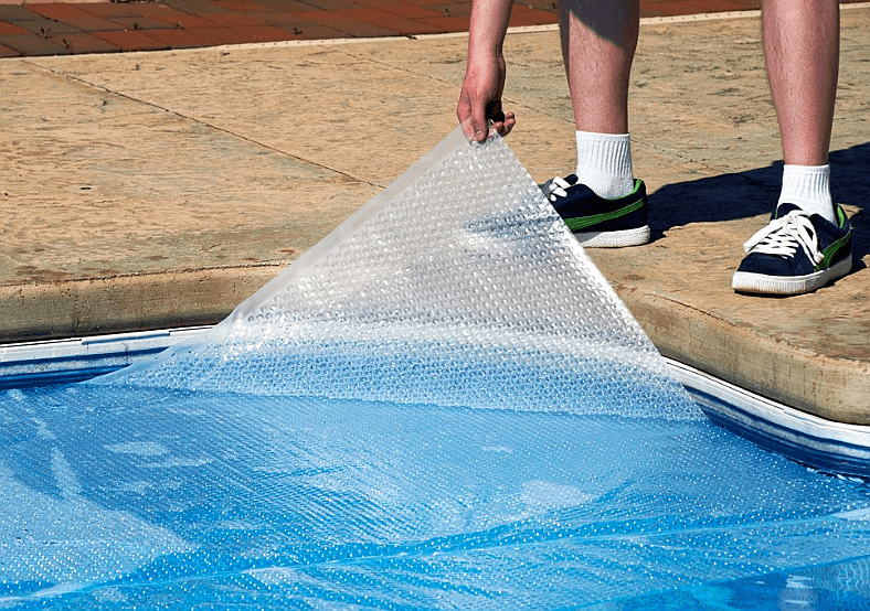 Time to Roll Up Solar Bubble Covers for Swimming Pools